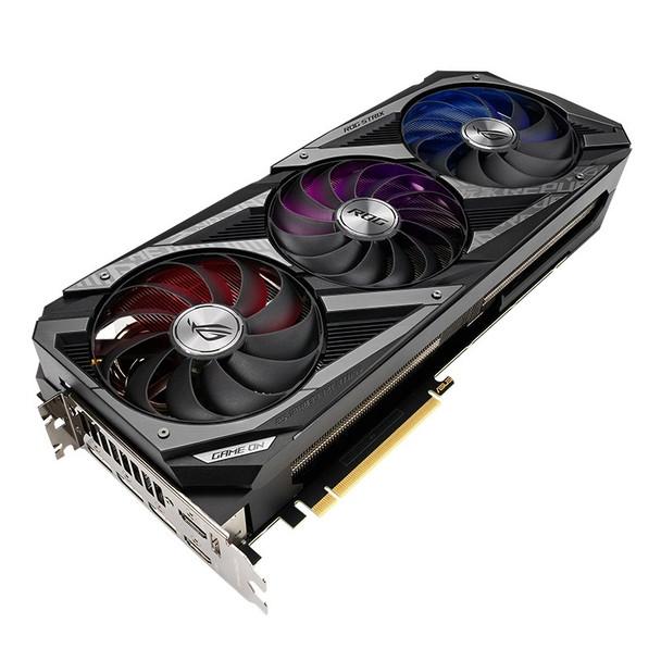 Asus GeForce RTX 3070 Ti ROG Strix OC 8GB Video Card Product Image 6