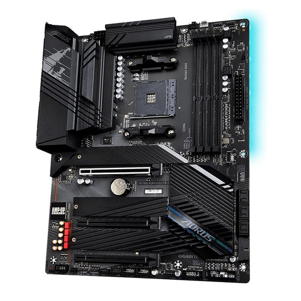 Gigabyte X570S AORUS ELITE AX AM4 ATX Motherboard Product Image 4