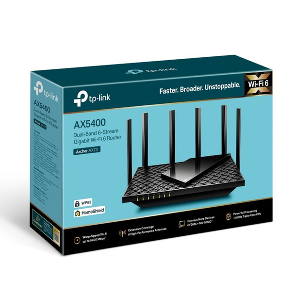 TP-Link Archer AX72 AX5400 Dual-Band Gigabit Wi-Fi 6 Router Product Image 4