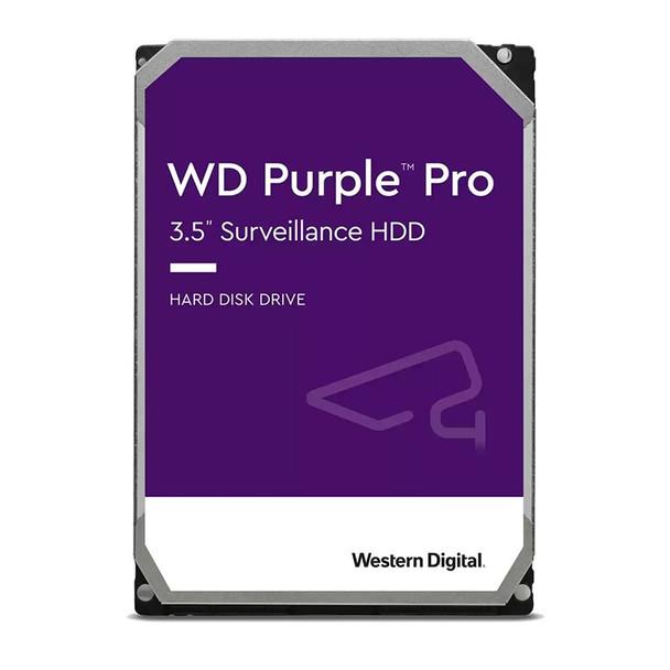 Western Digital WD WD121PURP 12TB Purple Pro 3.5in SATA3 Surveillance Hard Drive Main Product Image