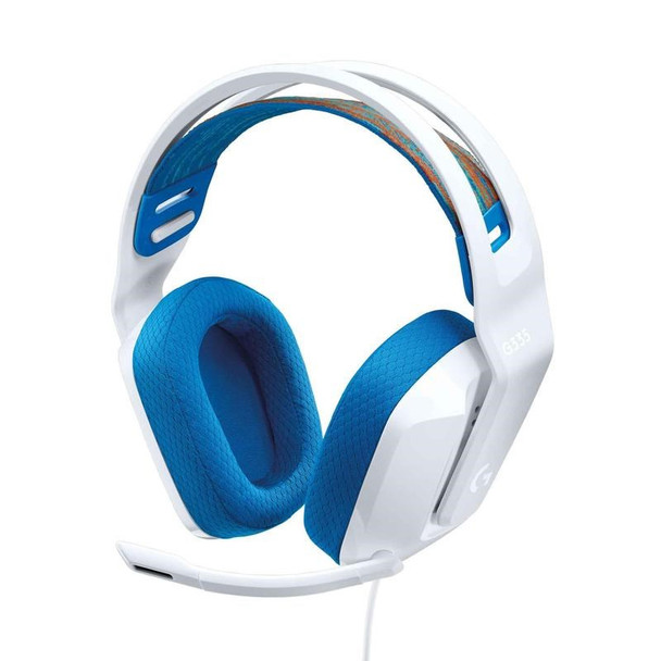 Logitech G335 Wired Gaming Headset - White Main Product Image
