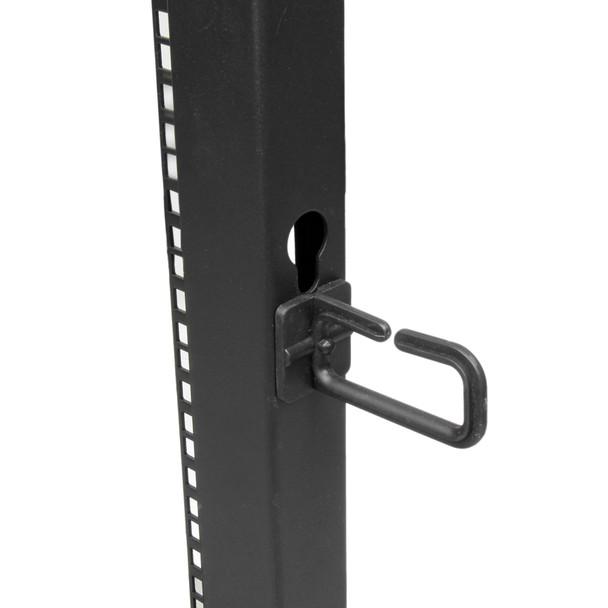StarTech 15U 19in Open Frame Server Rack - 4 Post Adjustable Depth 23-41in Mobile -  Product Image 5