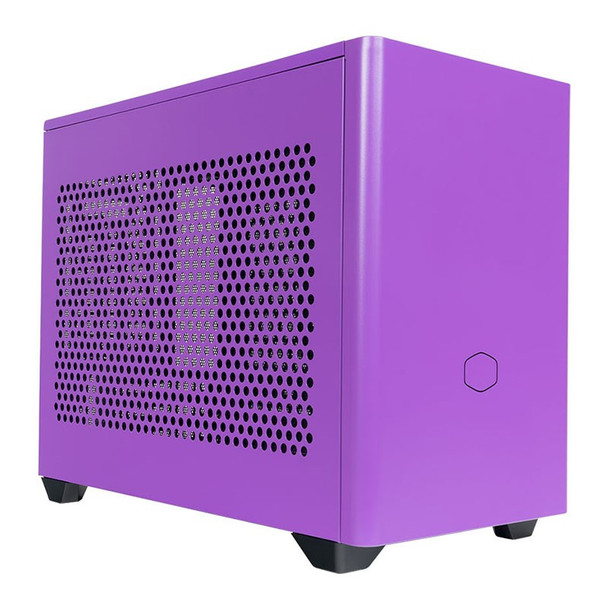 Cooler Master MasterBox NR200P Tempered Glass Mini-ITX Case - Nightshade Purple Product Image 2