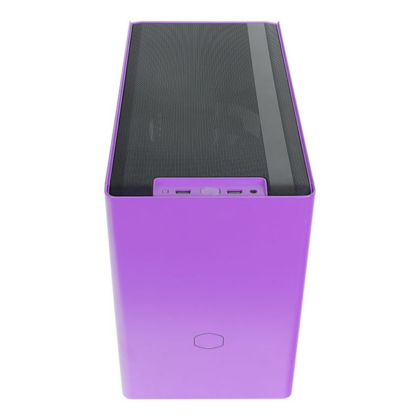 Cooler Master MasterBox NR200P Tempered Glass Mini-ITX Case - Nightshade Purple Product Image 3