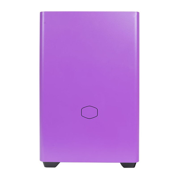 Cooler Master MasterBox NR200P Tempered Glass Mini-ITX Case - Nightshade Purple Product Image 4