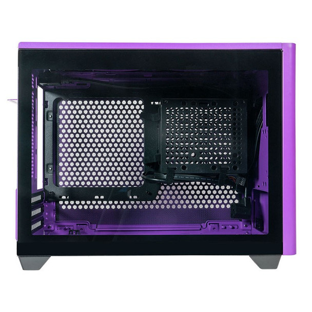 Cooler Master MasterBox NR200P Tempered Glass Mini-ITX Case - Nightshade Purple Product Image 5