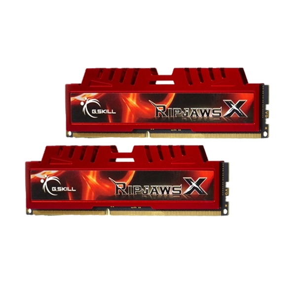 Product image for G.Skill 16GB DDR3-1333 16GB Dual Channel [RipjawsX]   AusPCMarket Australia