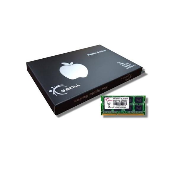 Product image for G.Skill 4GB DDR3 1066MHz Mac SODIMM 4GB | AusPCMarket Australia
