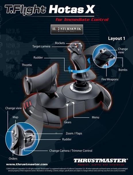 Thrustmaster T.Flight HOTAS X Joystick Product Image 7