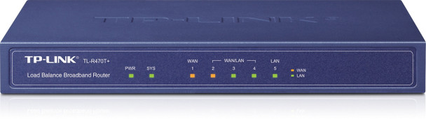 Product image for TP-Link 5-port Multi-Wan Router for Small Office and Net Cafe | AusPCMarket Australia