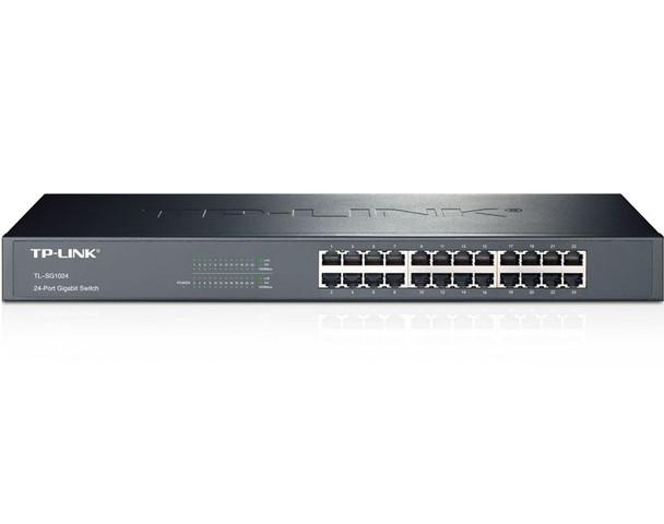 Product image for TP-Link TL-SG1024 24 Port Gigabit Switch Metal   AusPCMarket Australia