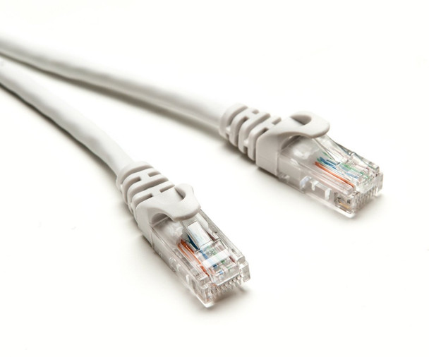 Product image for CAT5e PATCH CORD  2M WHITE Network Cable 32068 | AusPCMarket Australia
