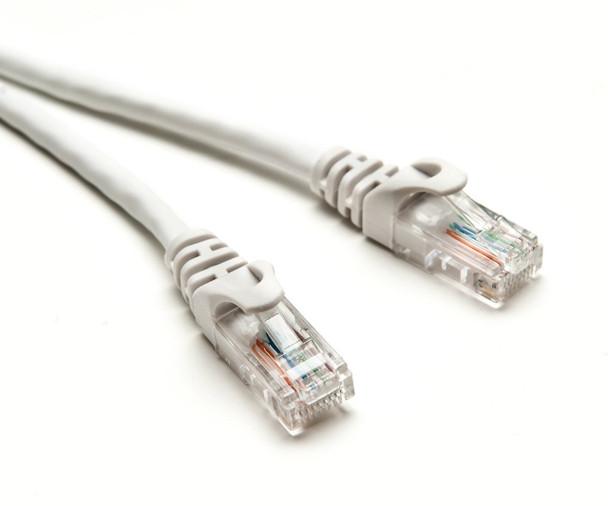Product image for CAT5e PATCH CORD  2M WHITE Network Cable 32068   AusPCMarket Australia