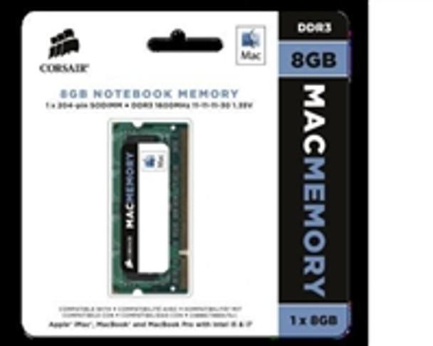 Product image for Corsair 8GB Mac Memory, 1600MHz DDR3 memory module for Apple iMac | AusPCMarket Australia