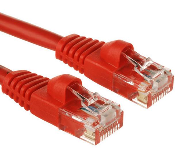 Product image for 2M Network Cable Red UTP Cat.5e RJ45/RJ45 | AusPCMarket Australia