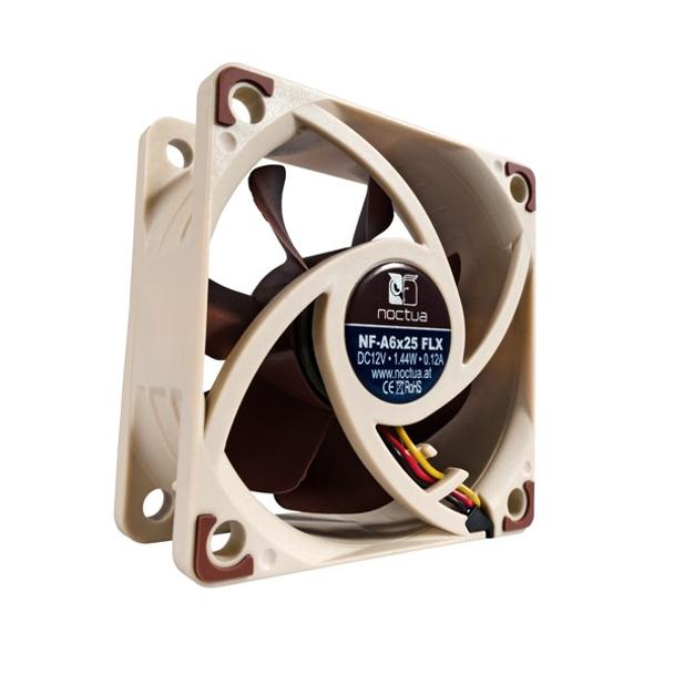 Product image for Noctua NF-A6x25 FLX A-Series 60mm Fan   AusPCMarket Australia