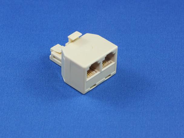 Product image for RJ12 Modular Double Adaptor | AusPCMarket Australia