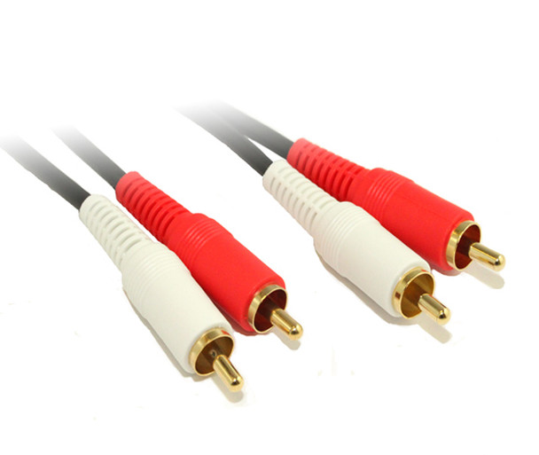 Product image for 1M 2RCA to 2RCA Audio Cable OFC | AusPCMarket Australia