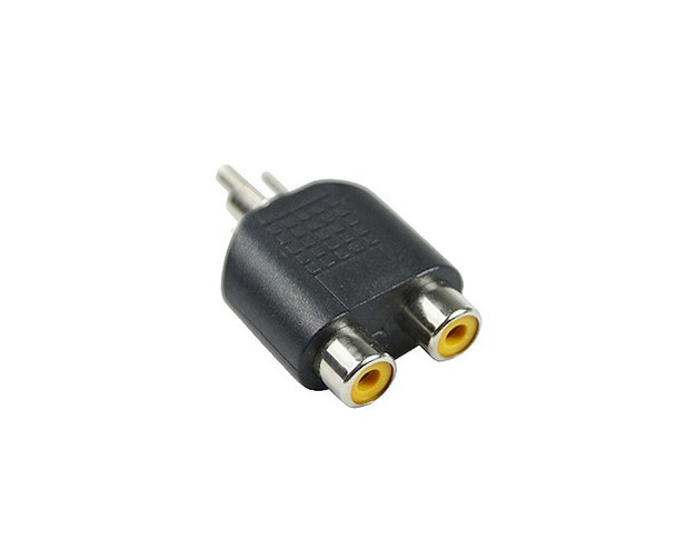 Product image for RCA Plug To 2 X RCA F | AusPCMarket Australia