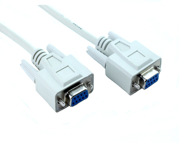Product image for 10M DB9F/DB9F Null Modem Cable   AusPCMarket Australia
