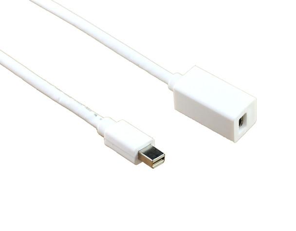 Product image for 2m Mini Displayport M-F Extension Cable   AusPCMarket.com.au