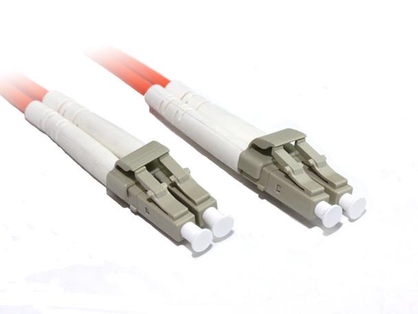 Product image for 15M LC-LC OM1 Multimode Duplex Fibre Optic Cable   AusPCMarket Australia
