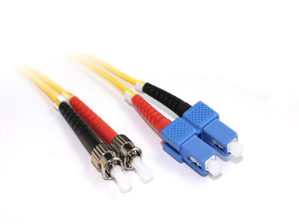 Product image for 15M SC-ST OS1 Singlemode Duplex Fibre Optic Cable | AusPCMarket Australia