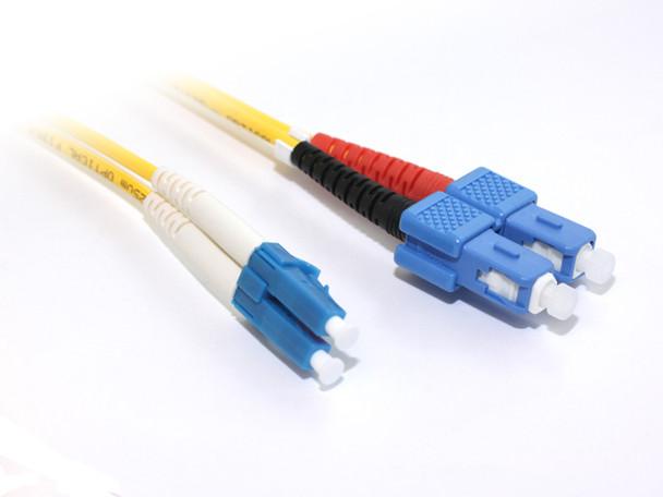 Product image for 1M LC-SC OS1 Singlemode Duplex Fibre Optic Cable | AusPCMarket Australia