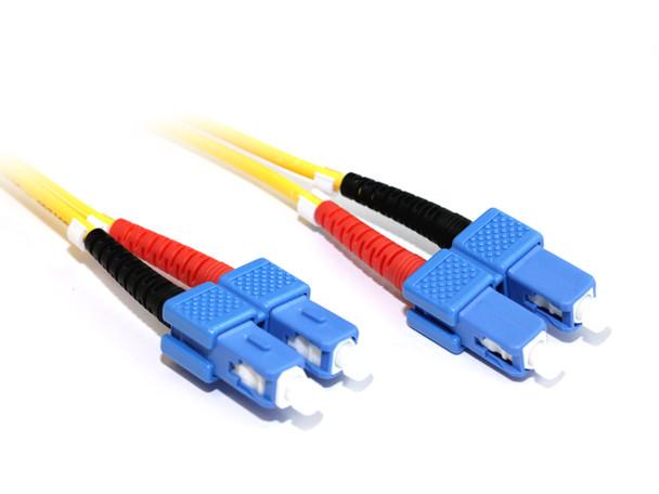 Product image for 2M SC-SC OS1 Singlemode Duplex Fibre Optic Cable | AusPCMarket Australia