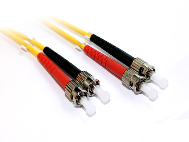 Product image for 2M ST-ST OS1 Singlemode Duplex Fibre Optic Cable | AusPCMarket Australia