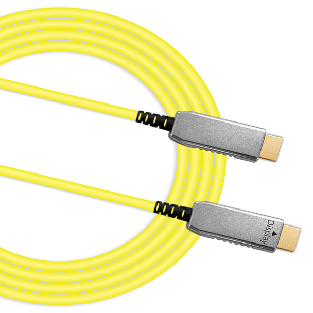 Product image for 100M Fibre Optic Hybrid HDMI Cable   AusPCMarket Australia