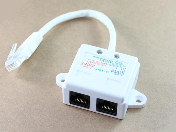Product image for RJ45 Data/Voice Splitter | AusPCMarket Australia