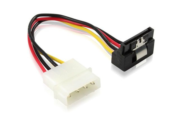 Product image for 15CM Right Angle SATA Power Cable | AusPCMarket Australia