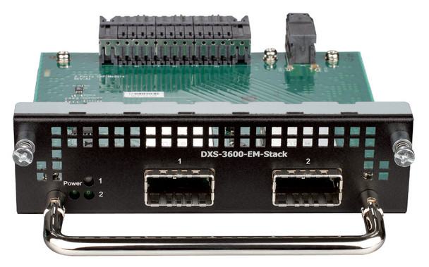 Product image for D-Link 2-Port 120G CXP stacking module for DXS-3600-32S - DXS-3600-EM-STACK | AusPCMarket Australia