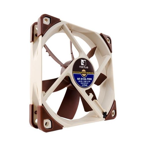 Product image for Noctua 120mm NF-S12A PWM 1200RPM Fan | AusPCMarket Australia