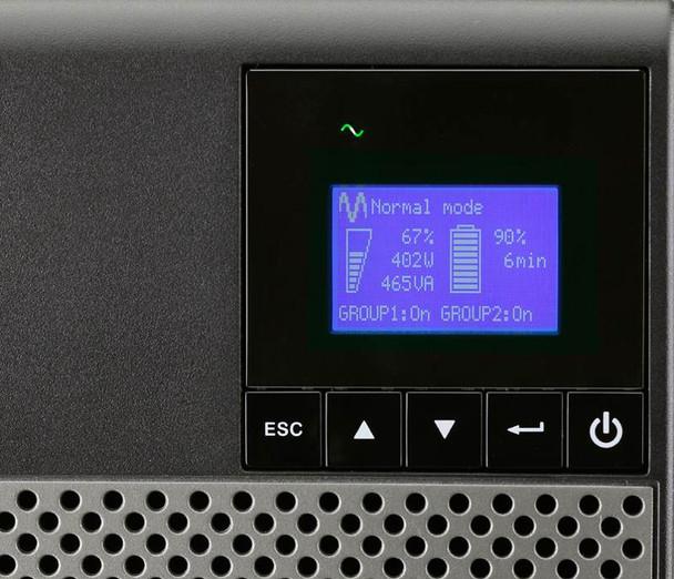 Eaton 5P 850VA / 600W Line Interactive Tower UPS - 5P850AU Product Image 3