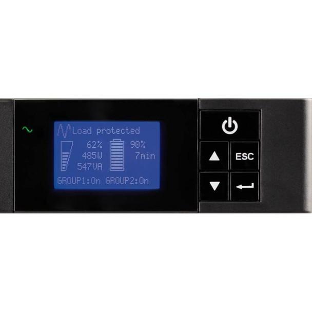 Eaton 5P 850VA / 600W Line Interactive 1U Rackmount UPS - 5P850iR Product Image 4