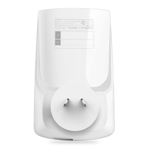 TP-Link TL-WA850RE 300Mbps Universal WiFi Range Extender Product Image 3