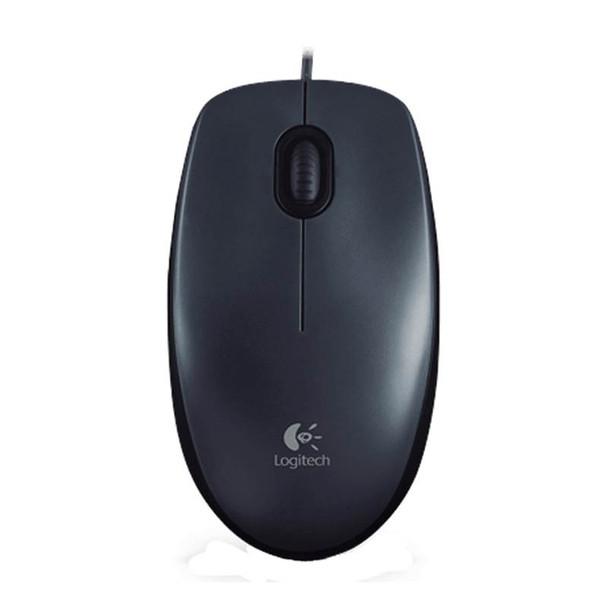 Logitech M90 Optical Mouse 1000dpi USB Product Image 4