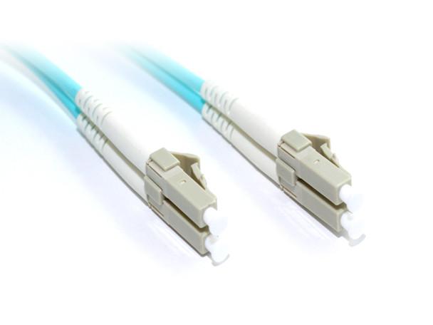 Product image for 1M OM4 LC-LC M/M Duplex Fibre Cable | AusPCMarket.com.au