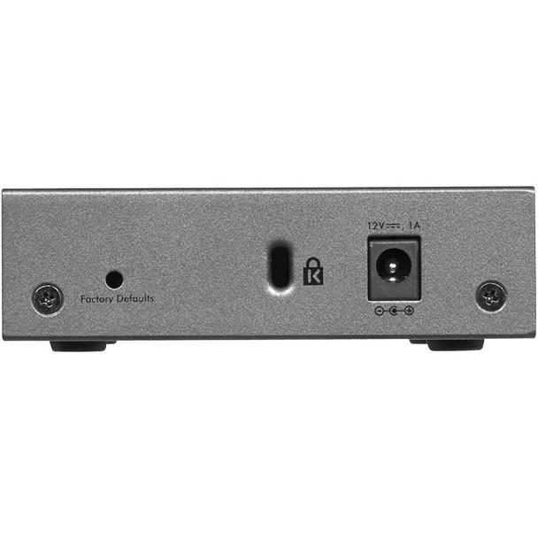Netgear GS105E ProSafe Plus 5-port Gigabit Ethernet Switch Product Image 4