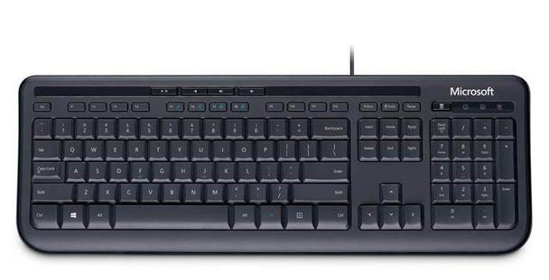 Microsoft Wired Keyboard 600 - Black Product Image 2