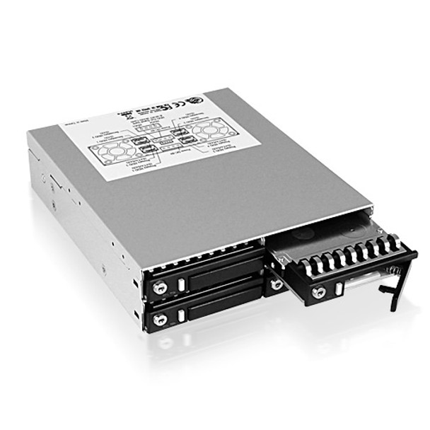 ICY BOX- IB-2222SSK 4x 2.5in Dual Channel SAS/SATA HDD Backplane Product Image 3