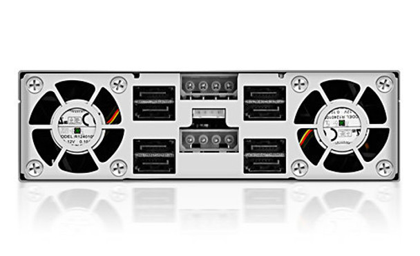 ICY BOX- IB-2222SSK 4x 2.5in Dual Channel SAS/SATA HDD Backplane Product Image 4