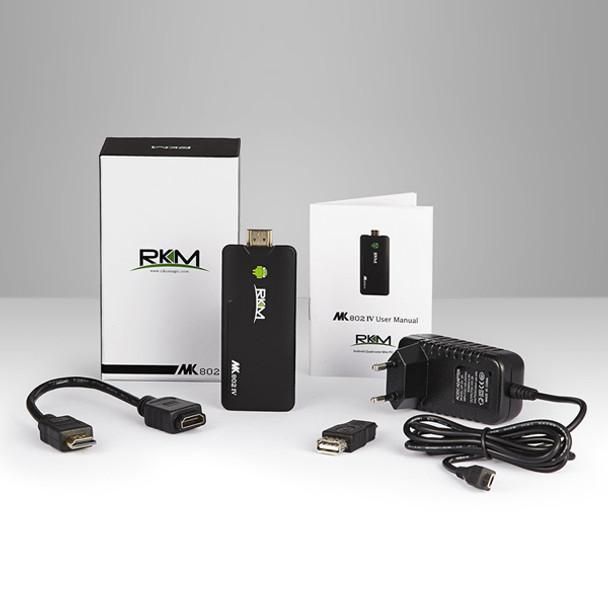 RKM Quad Core Android PC MK802 IV 8GB Product Image 4