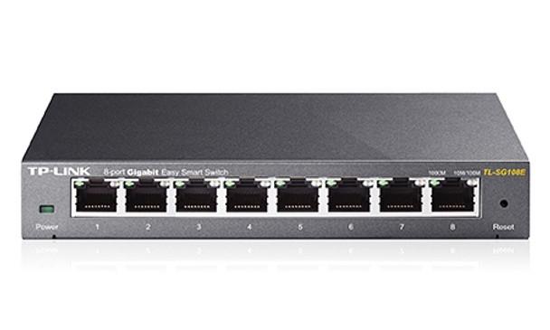 Product image for TP-Link 8-Port Gigabit Easy Smart Switch   AusPCMarket Australia
