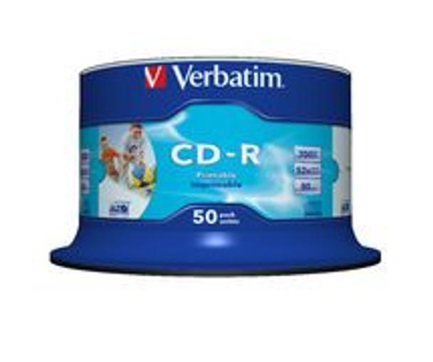 Product image for Verbatim CD-R 700MB 50Pack 41908 | AusPCMarket Australia