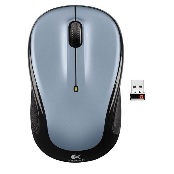 Product image for Logitech M325 Wireless Mouse - Light Silver   AusPCMarket Australia