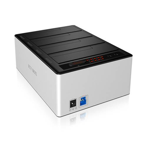 Product image for ICY BOX 4 Bay Dock for 2.5 & 3.5 Inch SATA HDD/SSD | AusPCMarket Australia