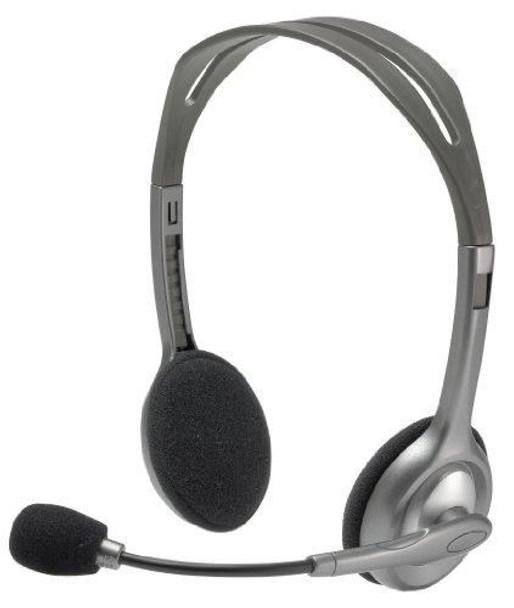 Product image for Logitech H110 Stereo Headset | AusPCMarket Australia